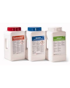 Spill treatment, for neutralizing acid substances