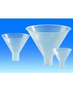 Funnel, powder, PP, 65mm diameter, 15mm diameter stem