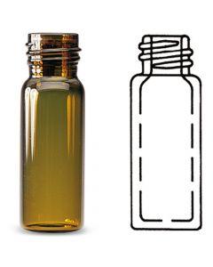 Vial, amber boro glass,amber, 2ml