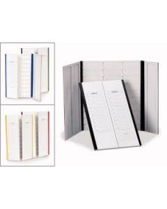 Microscope slide folder, cardboard, for 20 slides