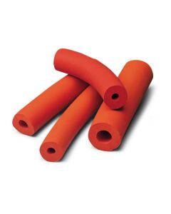 Tubing, red rubber, 8mm id x 2mm wall (German origin)