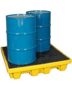 Spill pallet, for 4x  200L drums