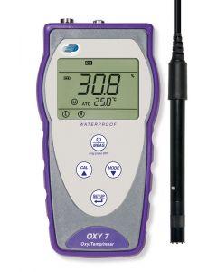 Portable Dissolved Oxygen meter  c/w probe